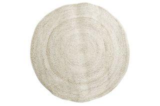 Alfombra fibra tono natural