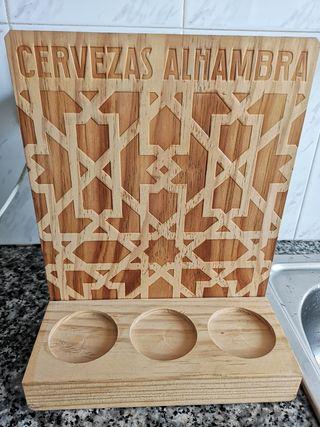 Expositor Cervezas Alhambra