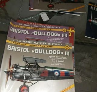 La Maquina y la Historia BRISTOL BULLDOG