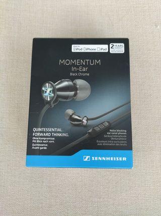 Auriculares Sennheiser Momentum M2 IEi black