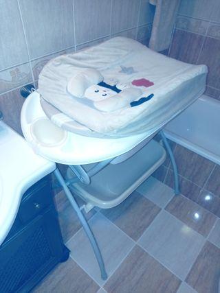 bañera plegable