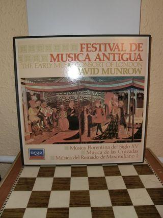 David Munrow Festival de música antigua