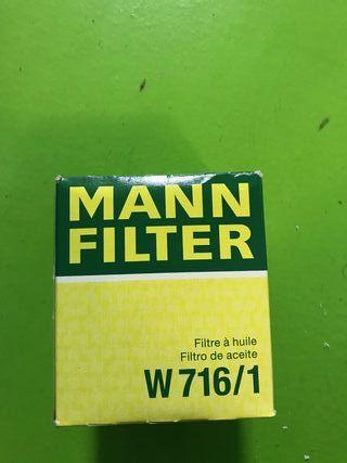 Filtro aceite Mann W716/1