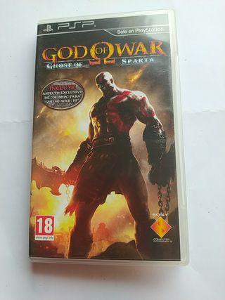 God of war. juego PSP