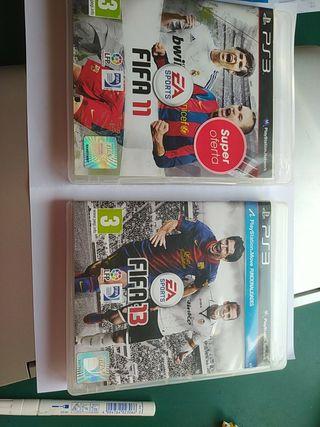 FIFA 13 y FIFA 11
