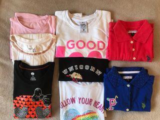 Camisetas para niñas