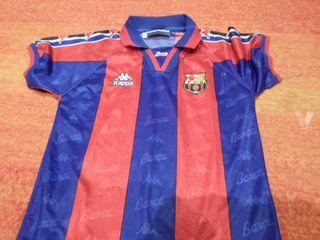 camiseta ronaldo Barcelona kappa futbol retro