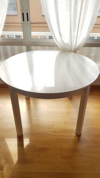 Mesa redonda 115cm de diámetro
