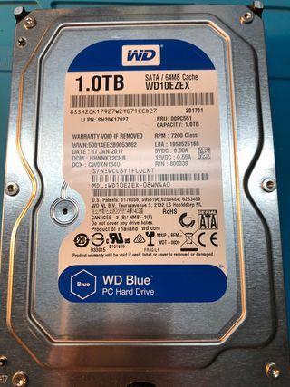 Disco duro wd blue 1tb