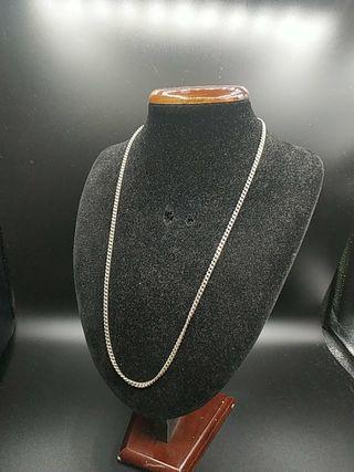 cadena de plata maciza .años 70