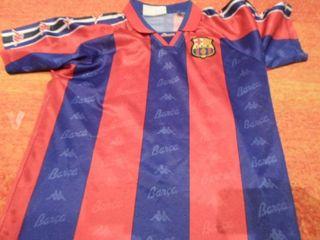 camiseta kappa barcelona 14 años futbol
