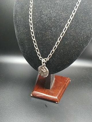 cadena de plata y medalla virgen Guadalupe