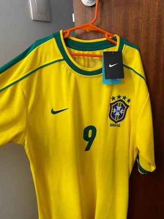 Camiseta Ronaldo 9 Brazil NUEVA