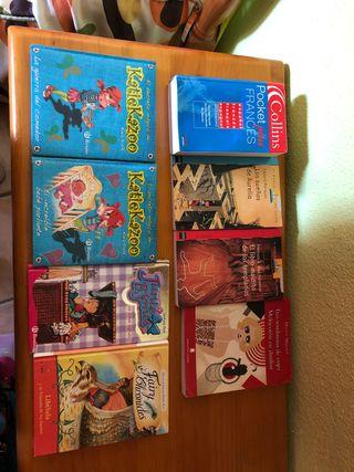Vendo libros, bien por lote o individual.
