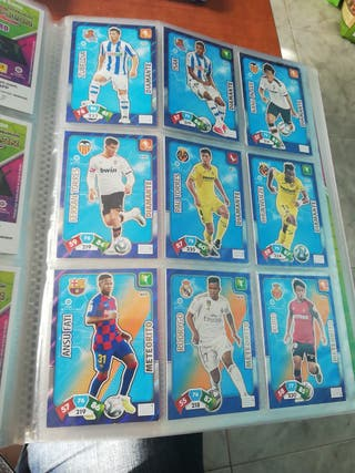 Lote de 380 cromos Adrenalyn XL 2019-20