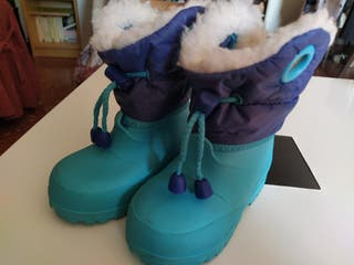 botas nieve bebé