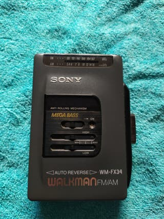 WALKMAN SONY WM-FX34