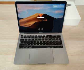 "Macbook Pro 13"" con Touch Bar - Impoluto"