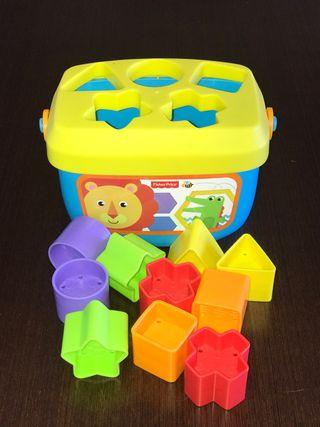 Juguete bebé - bloques de construcción