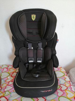 silla Ferrari grupo 1,2 y 3.