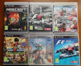 Videojuegos para la Playstation 3
