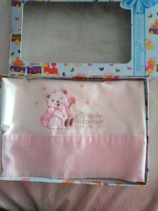 sábanas de capazo o minicuna