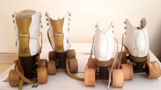 2 pares patines 4 ruedas niña/o. T27 y T28