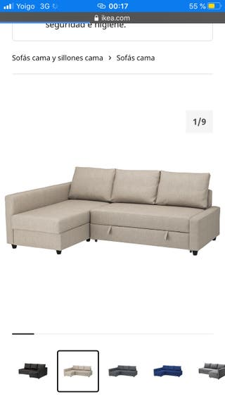 Sofá cama IKEA - COMO NUEVO