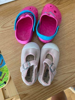 Zapatillas + Zuecos regalo
