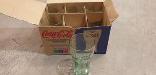 5 vasos coca cola