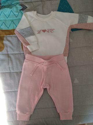 chándal bebé 3-6 meses
