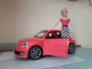 volkswagen barbie, walkie talkies barbie
