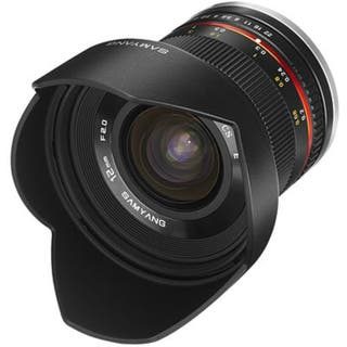 Samyang 12mm F2.0 montura SONY (Filtro Incluido)