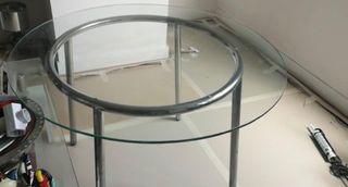 mesa de comedor redonda. 5 sillas