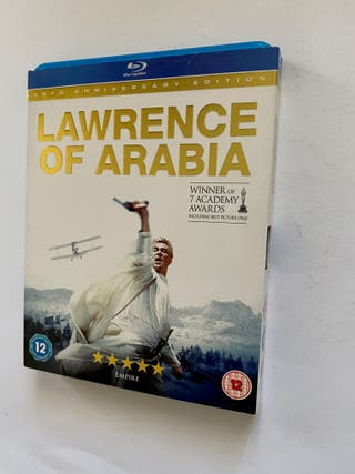 LAWRENCE OF ARABIA - BLU RAY