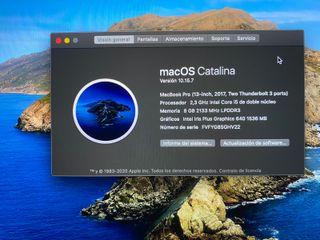 """MacBook Pro 13"""" 512GB COMO NUEVO"""