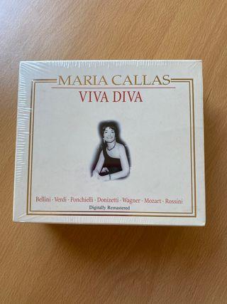 Colección CDs Maria Callas - Viva Diva nuevo