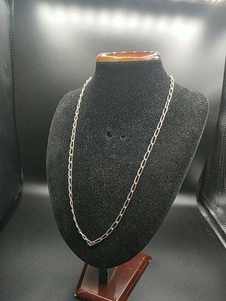 cadena de plata años 70