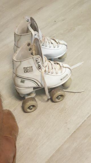 patines usados por niñas