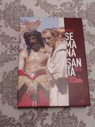 6 DVDs semana Santa de Sevilla