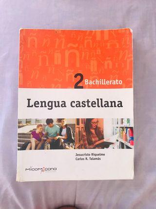 Lengua castellana de 2 bach