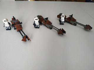 Scout Trooper LEGOS Star wars ENDOR