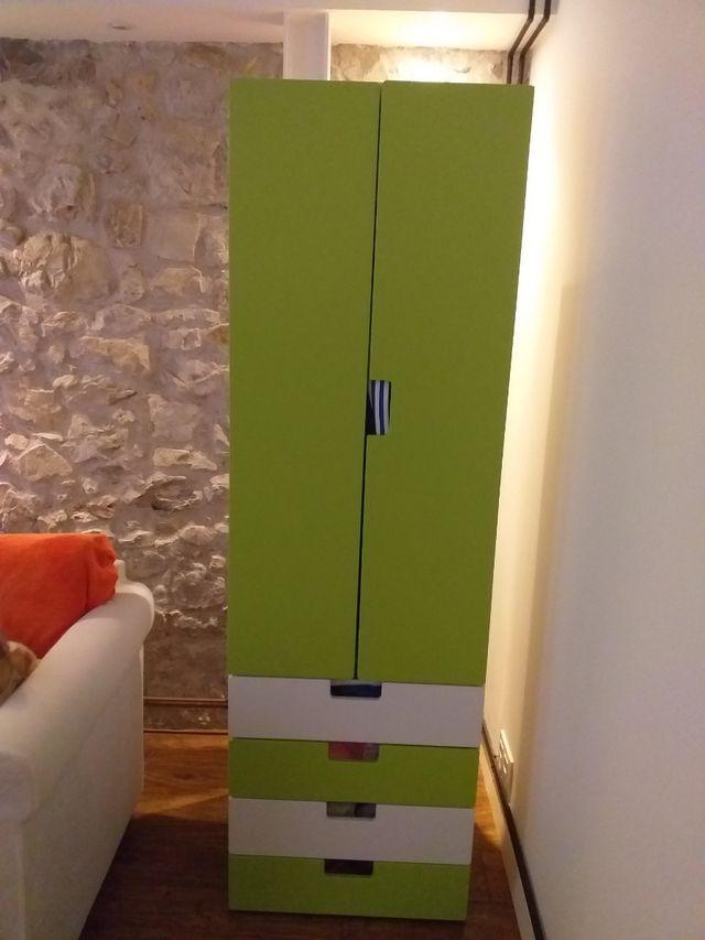 Armario de Ikea colores