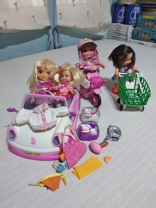 juguetes. lote muñecas barriguitas.