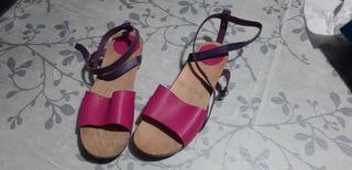 Zuecos sandalias Eferro talla 41
