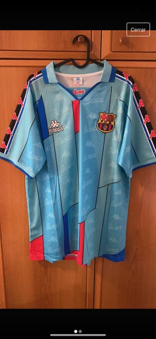 Camiseta Barça temporada 95-96 Ronaldo talla XL