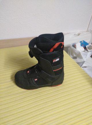 botas descansos nieve