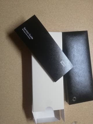 caja de bolígrafo mont blanc