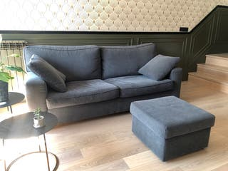 Sofa 3 plazas completamente tapizado