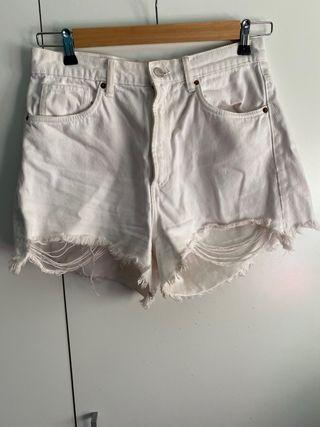 Shorts vaquero Zara